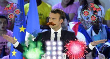 ¿El EPN francés? En sólo un mes, Macron bajó 10 puntos su popularidad