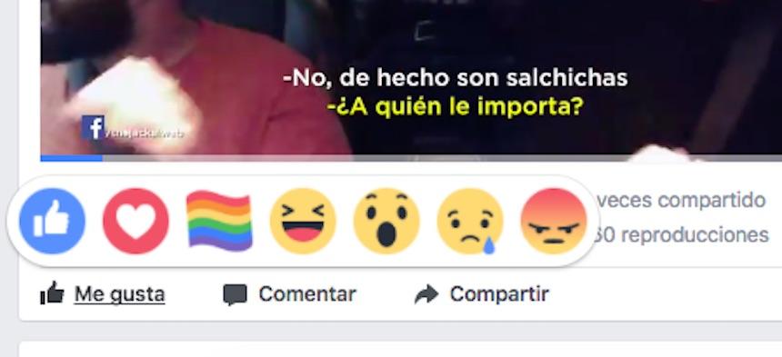 Emoji Bandera LGBT