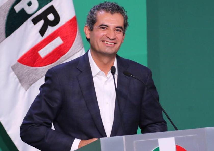 Enrique Ochoa Reza, presidente del PRI
