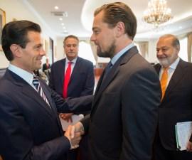 Reunión EPN DiCaprio