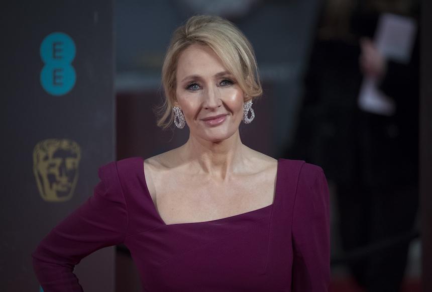 Escritora J.K. Rowling
