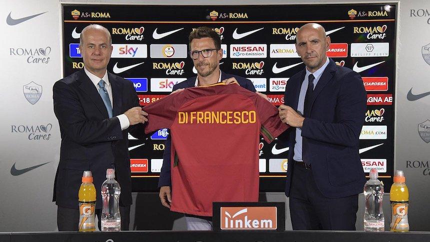Di Francesco nuevo entrenador de Héctor Moreno en la Roma