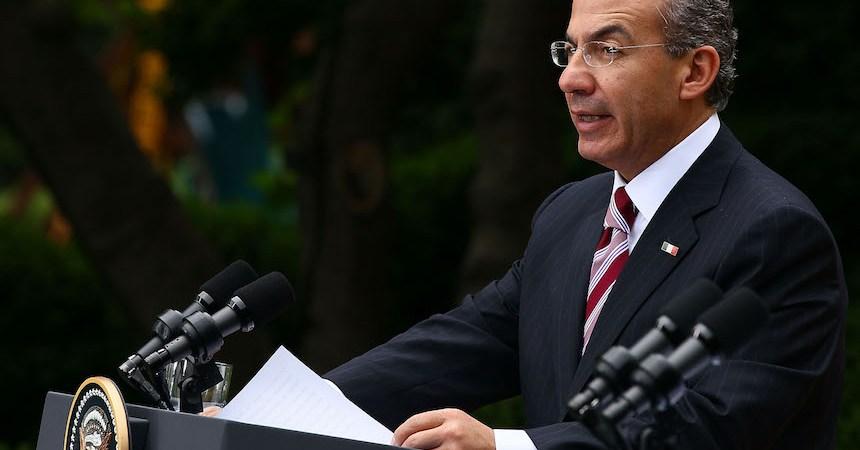 Felipe Calderón Hinojosa, expresidente de México