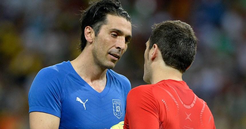 Buffon y Casillas