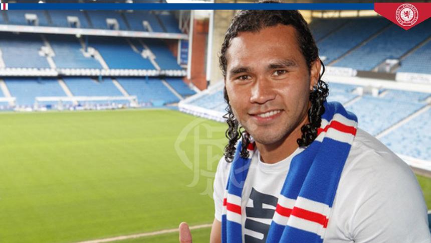 Rangers FC ya presentó a Eduardo Herrera y Gullit Peña