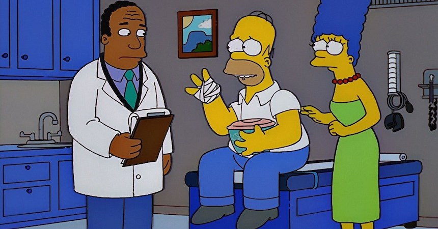 Homero - Dedos cortados