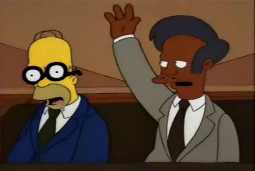 Homero Simpson - Perdiendo el tiempo durmiendo