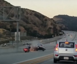 Ira al conducir - Accidente en carretera