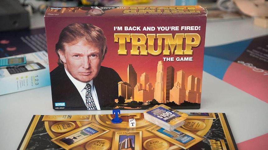 Museo de los productos fracasados - El juego de Trump