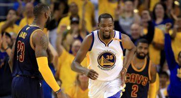 ¡Kevin Durant le dio la primera victoria a los Warriors en la Finales!