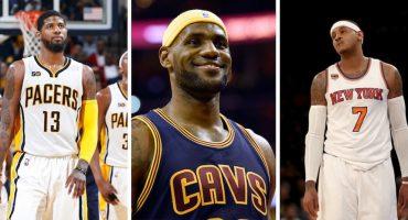 ¿Qué pasará con la NBA si Paul George y Carmelo firman con los Cavs?