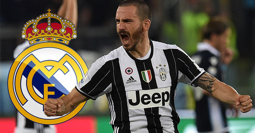 Leonardo Bonucci al Real Madrid