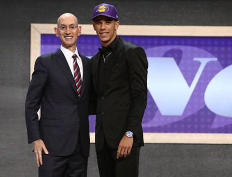 Lonzo Ball a los Lakers