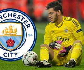 Ederson, portero del Manchester City