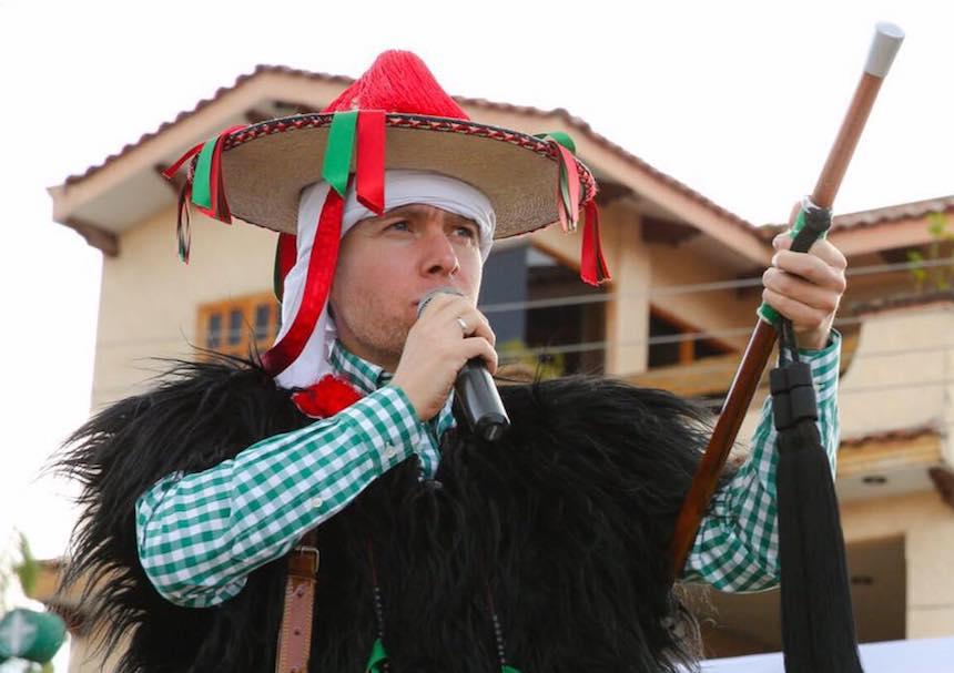 Manuel Velasco, gobernador de Chiapas