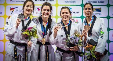 ¡Orgullo nacional! María del Rosario ganó bronce en el Mundial de Taekwondo
