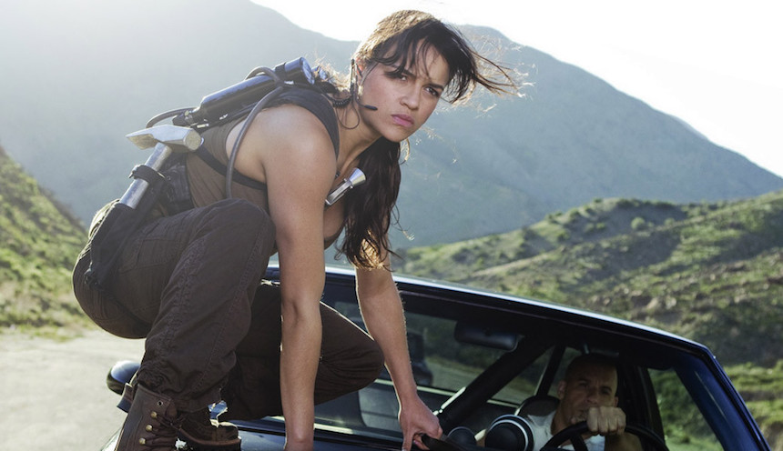 Michelle Rodríguez amenaza con salir de Fast and the Furious