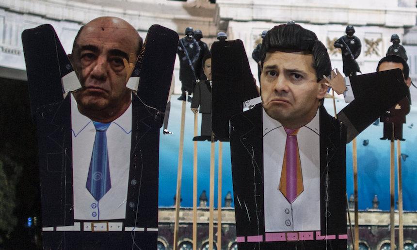 Jesús Murillo Karam y Enrique Peña Nieto
