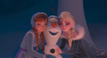 Olaf se pone a celebrar con su propia aventura animada