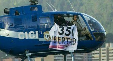 ¿Levantamientos militares? Helicóptero sobrevuela y dispara sobre el Tribunal Supremo de Venezuela