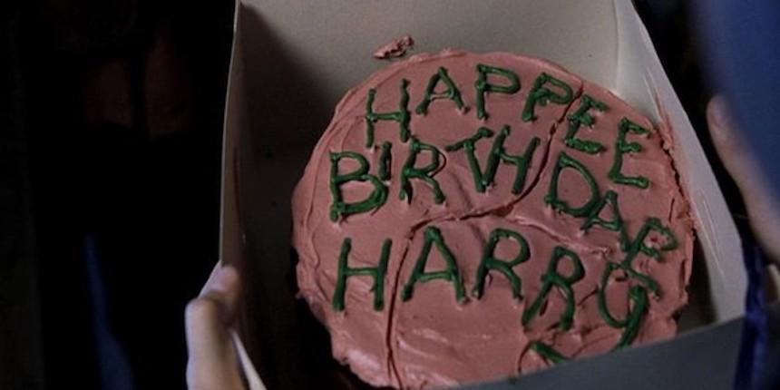 Harry Potter - Pastel de cumpleaños