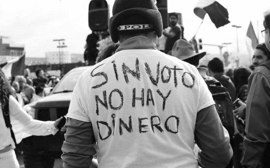 Aprueban iniciativa #SinVotoNohayDinero de Pedro Kumamoto