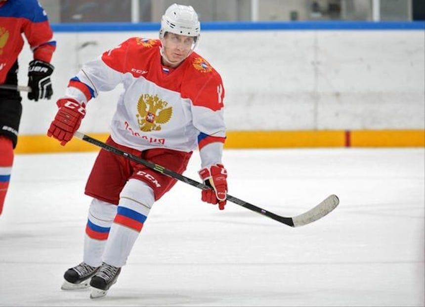 Vladimir Putin - Hockey