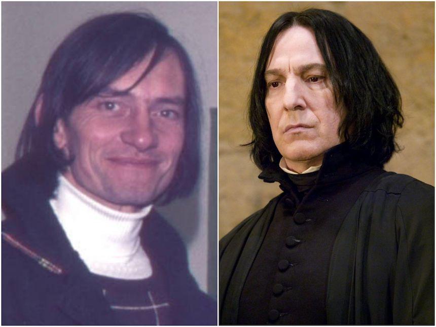 Snape y su fuente de inspiración