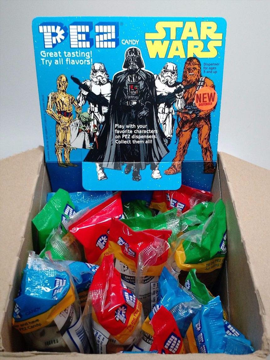 Dispensadores Pez de Star Wars