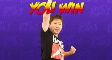 Aprendan a jugar Street Fighter con Yoshinori Ono