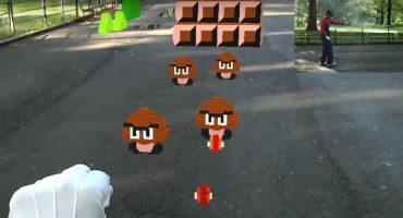 Nerdgasmo: el sujeto que jugó Super Mario en la vida real