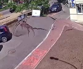 Ucrania - Explosión de tubería