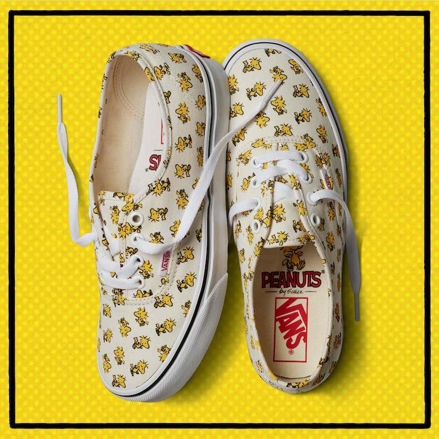 Vans - Colección de Charlie Brown y Snoopy