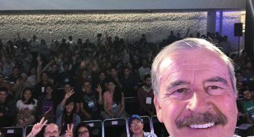 Y en la nota idiota del día: Vicente Fox pide que no abran al PRI del Frente Amplio