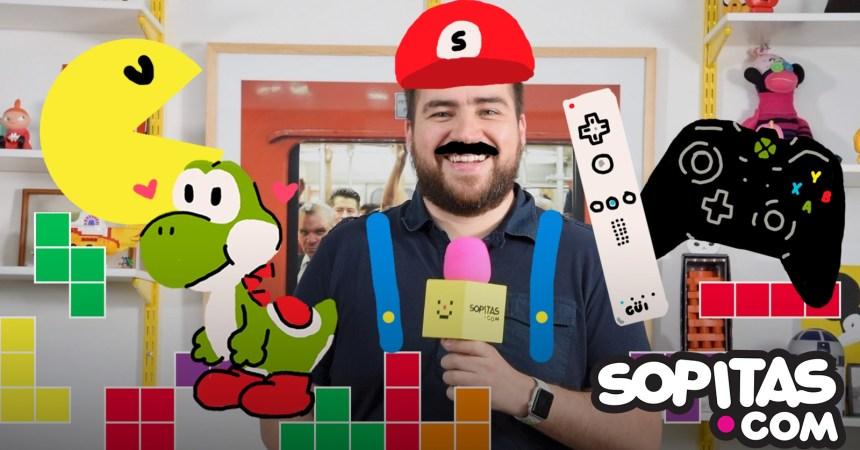Sopitas habla de video juegos Hiram Almeida