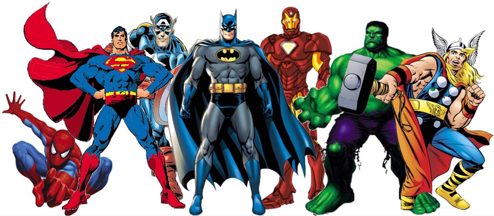 Lo que los superhéroes nos enseñan