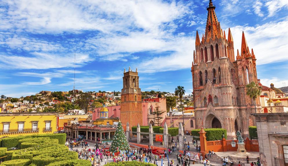 San Miguel de Allende es reconocida como el 'Mejor Destino Turístico del Mundo'