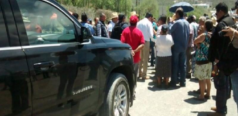 Manifestación de comuneros en Puebla
