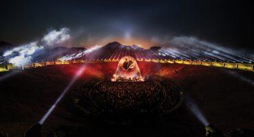 Mira el tráiler del espectacular concierto de David Gilmour desde Pompeya
