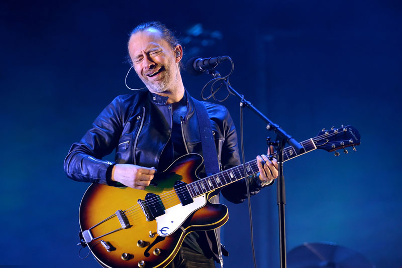 Pa' tocar Creep: Fender lanza una guitarra especial de Radiohead