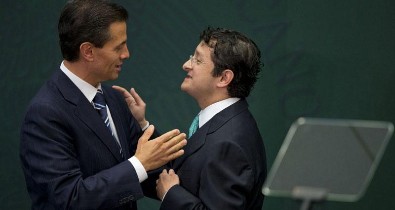 Virgilio Andrade y Enrique Peña Nieto