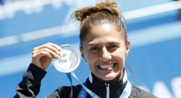 ¡Orgullo nacional! Adriana Jiménez ganó plata en el Mundial de Natación