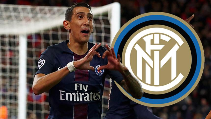 Si llega Neymar al PSG, Ángel Di María se va al Inter
