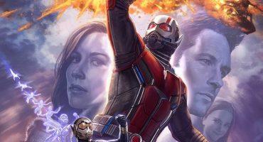 El póster de Ant-Man and the Wasp es todo un golpe de acción