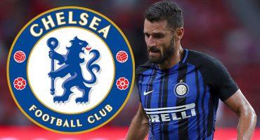 Chelsea quiere seguir reforzándose y piensa en Antonio Candreva