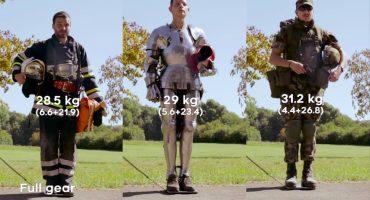 ¿Quién es más rápido?: un bombero, un soldado o un guerrero medieval