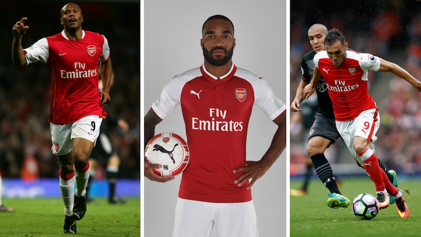 Lacazette necesita romper a la 'maldición del nueve' en el Arsenal