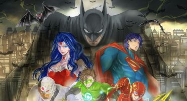 ¡Aguas Goku!: Batman y La Liga de la Justicia se pasan al manga