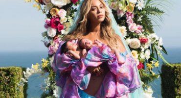 La foto de Beyoncé con sus gemelos... ¿es una obra de arte?