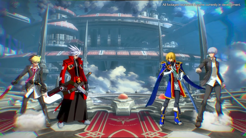Prepárense para los botonazos con BlazBlue Cross Tag Battle